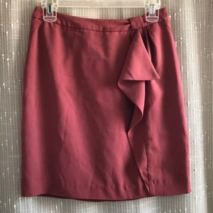 H&M Terra Cotta Pencil Skirt